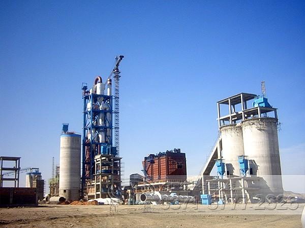 水泥生产工艺流程图/水泥厂设备/水泥生产线 -- 河南